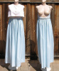 Vintage 60s Rudi Gernreich for L'intrigue Two Piece Nightgown & Top Loungewear Set