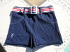 SOLD - Vintage 70s Sea Mark Ribbed Stretch Nylon Swim Trunks size Large